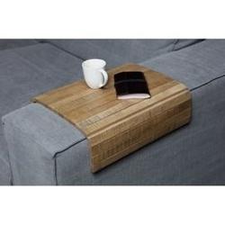 Woood :: drewniana podstawka flexible xl na podłokietnik sofy