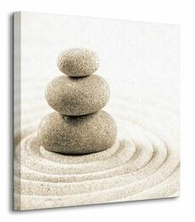 Kamienie - Obraz na płótnie