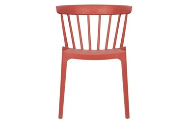 Woood plastikowe krzesło bliss melon 378634-m