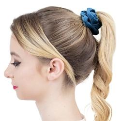 Gumka do włosów scrunchies frotka welur szmaragd