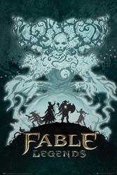 Fable legends white lady - plakat
