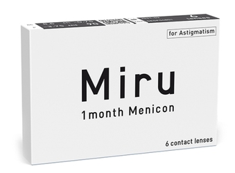 Miru 1month Menicon for Astigmatism, 6 szt.