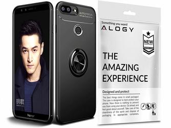 Etui Alogy Ring Holder Armor Huawei Honor 9 Lite + Szkło Alogy