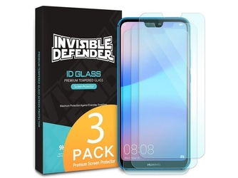 3x szkło hartowane ringke invisible defender huawei p20 lite
