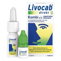Livocab direkt kombi 4ml at + 5ml nspray