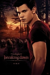 Twilight Breaking Dawn - Jacob And Wolfpack - plakat
