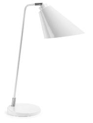Lampa biurkowa PROVI biała - czarny || biały
