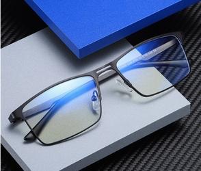 Męskie okulary do komputera blue light zerówki 2553a