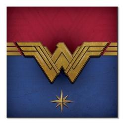 Wonder woman emblem - obraz na płótnie