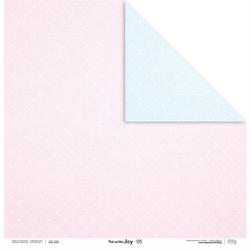 Uroczy papier Pink and Blue JOY 30,5x30,5 cm - 05 - 05