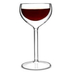 zestaw 2 kieliszki do wina z podwójnymi ściankami 2 x 200 ml