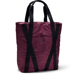Torba damska ua essentials zip tote - bordowy