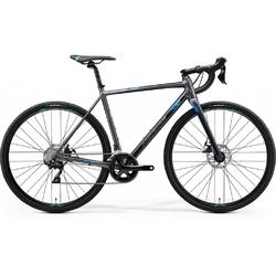 Rower przełajowy merida mission cx 400 2020, kolor grafitowy-niebieski, rozmiar 59cm
