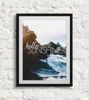 Hello sunshine - plakat b2