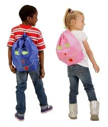 Worek-plecak przedszkolaka, różowy, potette plus outlet - różowy