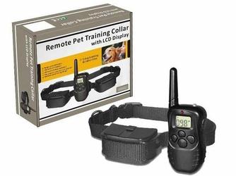 Elektroniczna obroża treningowa z wyświetlaczem