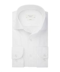 Męska biała koszula dzianina 37
