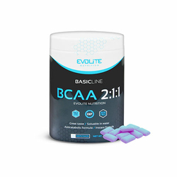 Evolite BCAA 2:1:1 400g Super cena - Bubble Gum