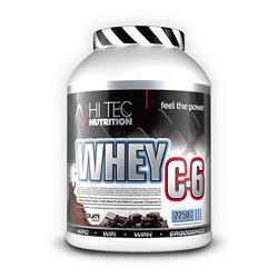 HI-TEC Whey C6 - 2250g - Dark Chocolate