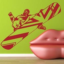 naklejka ścienna snowboard sb11