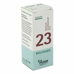 Biochemie Pflueger 23 Natrium bicarbon.D 6 Tabl.