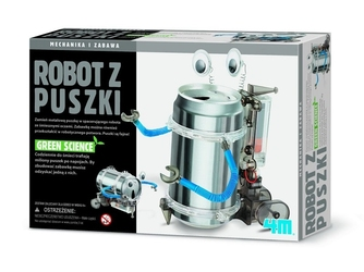 ROBOT Z PUSZKI zestaw naukowy