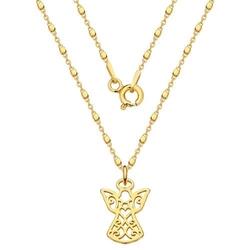 Naszyjnik z aniołkiem 789