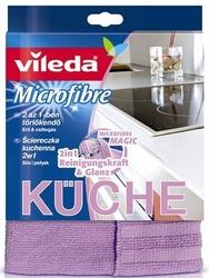 Vileda, kuche 2w1, ściereczka kuchenna  z mikrofibry, 1 sztuka