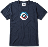 Koszulka męska bmw classic logo 70