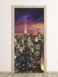 Fototapeta na drzwi new york manhattan 106