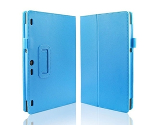 Niebieskie etui typu stand cover lenovo tab 2 a10-70 - niebieski