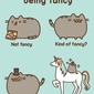 Pusheen super fancy - plakat