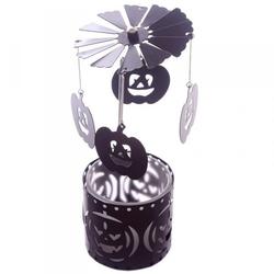 Dynie halloween - karuzelka napędzana ciepłem świeczki