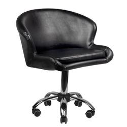 Krzesło kosmetyczne lady czarne