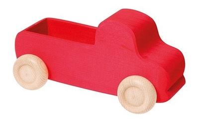 Samochodzik 1+, czerwony, grimms