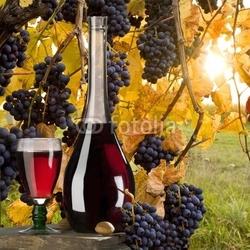 Naklejka samoprzylepna czerwone wino