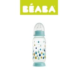 Butelka antykolkowa beaba 240ml - rainbow blue