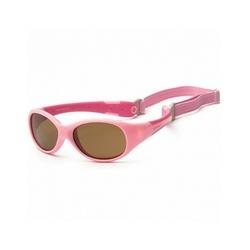 Okulary przeciwsłoneczne koolsun  flex hot pink 3-6 lat