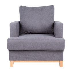 Fotel tapicerowany sorinto szary