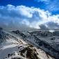 Fototapeta szczyty tatr zimową porą fp 1626