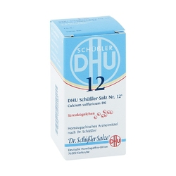 Biochemie dhu 12 calcium sulfur d  6 globuli