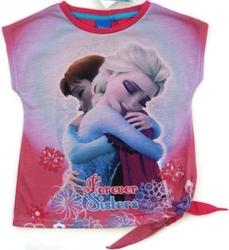Koszulka frozen forever sisters różowa 6 lat