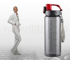Bidon sportowy 600 ml energy czerwony