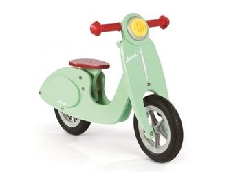 Rowerek biegowy miętowy scooter