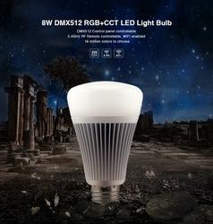 Żarówka MILIGHT - 8W DMX512 RGB+CCT LED - FUTD03