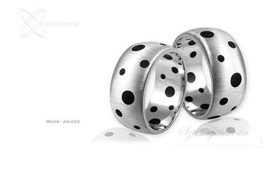 Obrączki srebrne - wzór ag-025