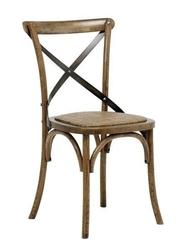 Krzesło vintage hardwood - brązowy