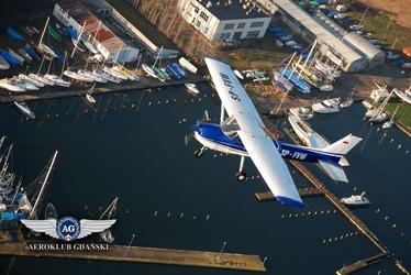 Lot widokowy samolotem dla dwojga - trójmiasto - 30 minut