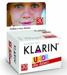 KLARIN Junior x 30 tabletek