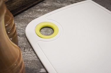 Practic deska kuchenna antypoślizgowa 30 x 20,5 cm biała